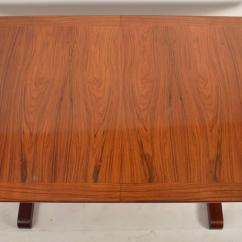 Skovby Rosewood Dining Chairs Office Gaming Danish Table By At 1stdibs