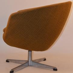 Swivel Pod Chair Deck Chairs Pair Of Overman For Sale At 1stdibs