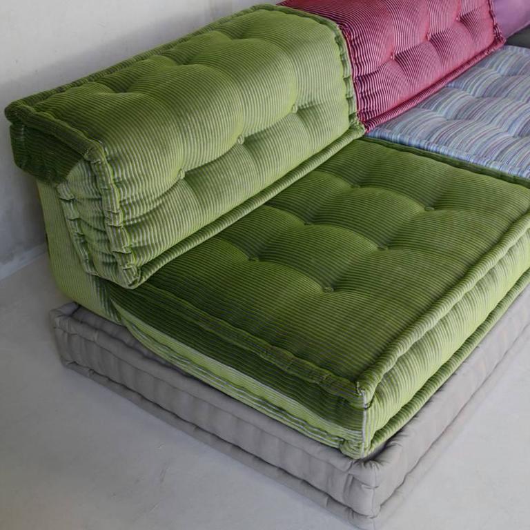 sectonal sofa natuzzi leather colors mah jong, the by roche bobois at 1stdibs