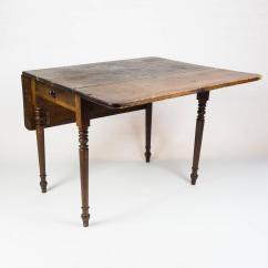 Drop Leaf Kitchen Table Chairs Fold Up Asda Edwardian At 1stdibs