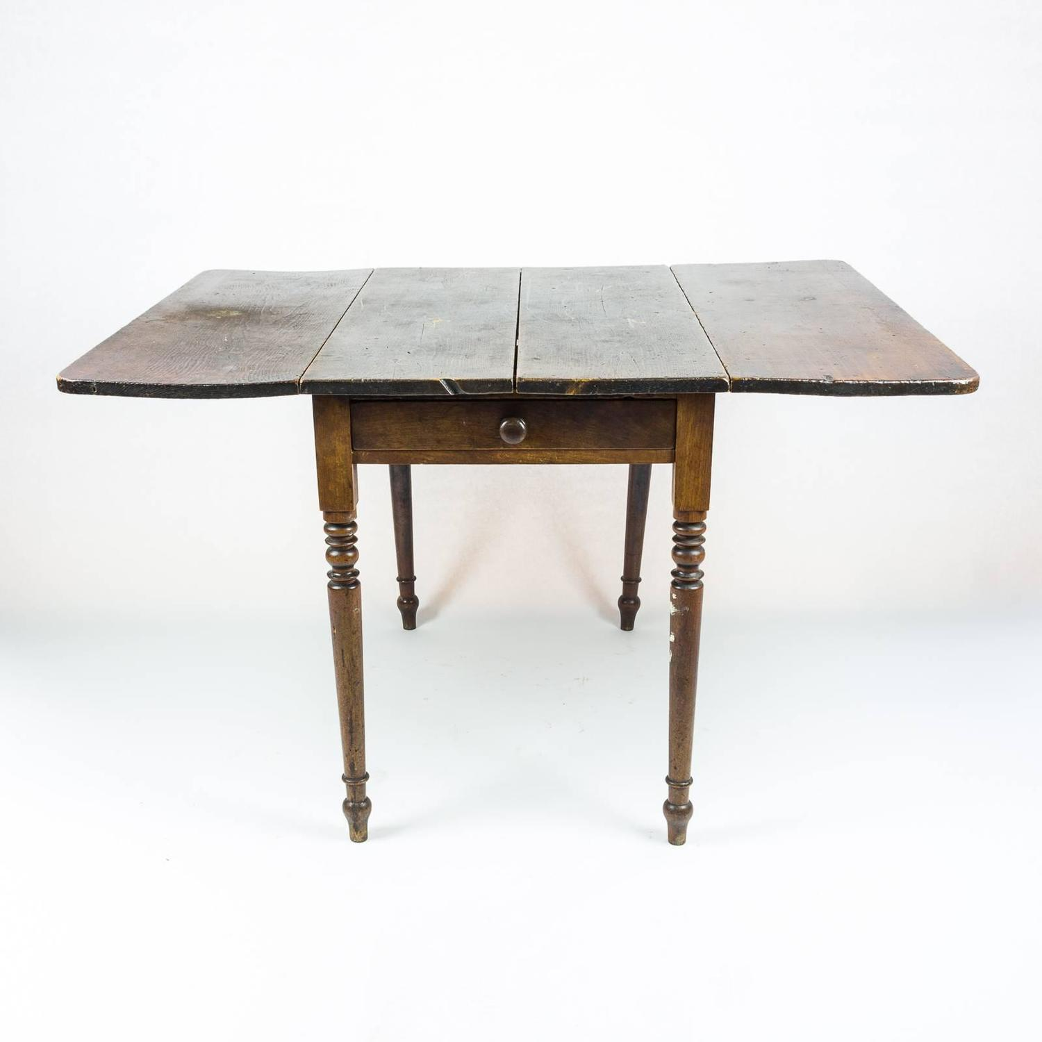 drop leaf kitchen table chairs wheelchair extension edwardian at 1stdibs