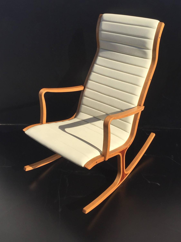 rocking chair footrest race gaming tendo mokko heron and for kosuga