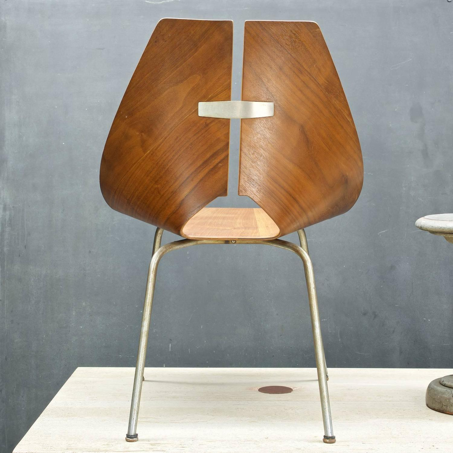 Bent Plywood Chair Ray Komai Chair For Sale At 1stdibs