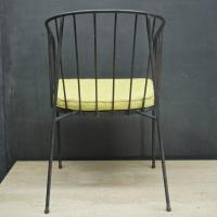 George Nelson Arbuck Iron Rod Outdoor Set of Four Chairs ...