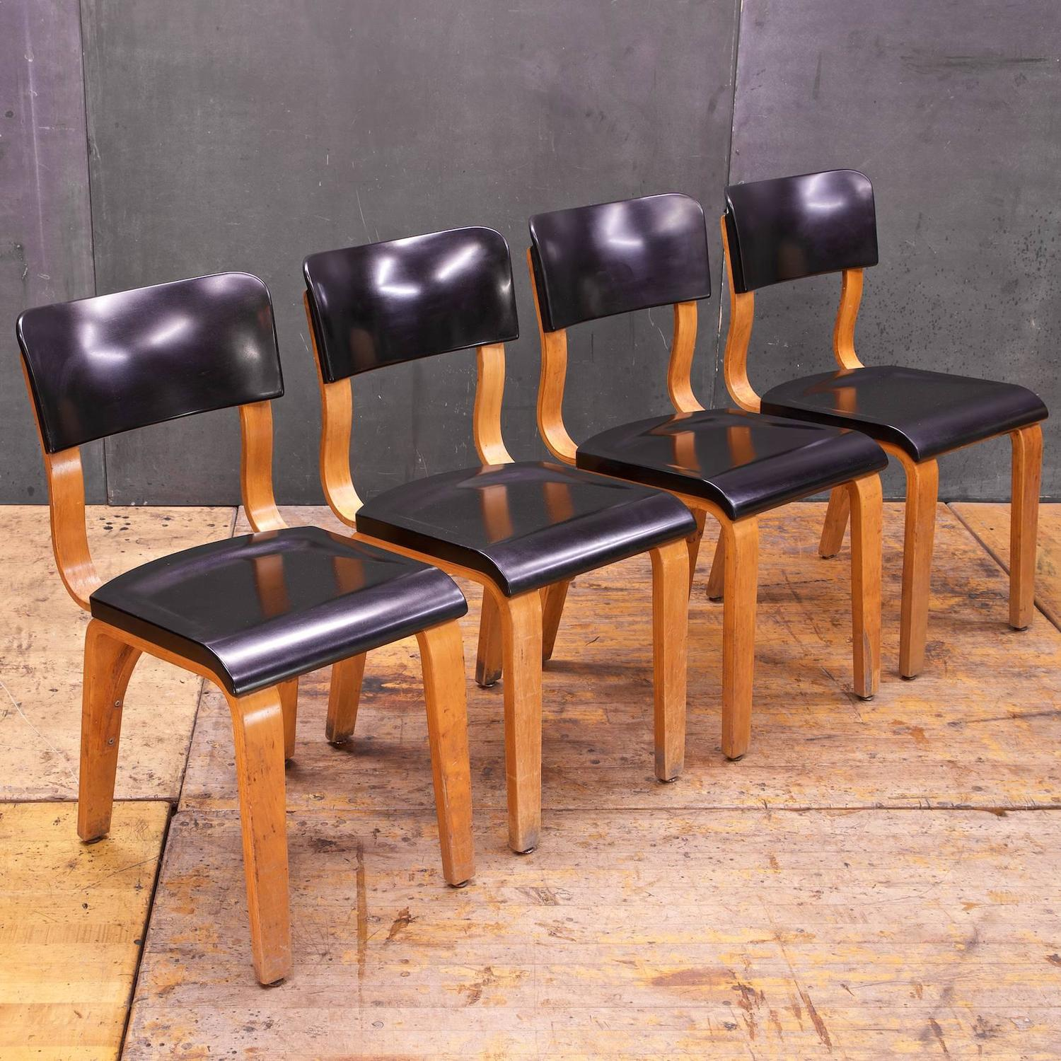 bentwood dining chair pool lawn chairs rare bakelite and thonet at 1stdibs