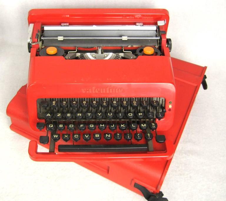 Ettore Sottsass Red Valentine Olivetti Mid Century