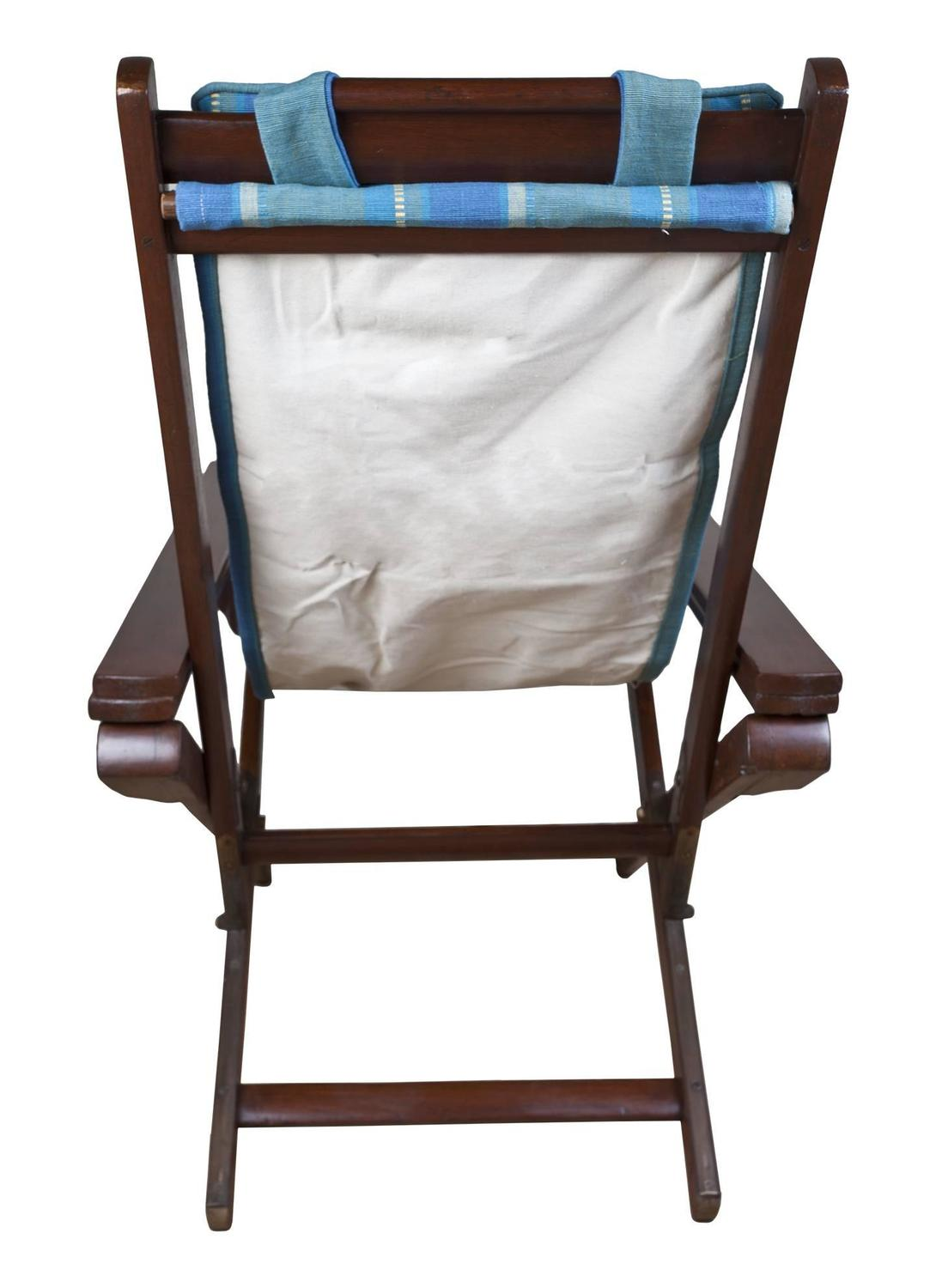 chair with leg rest india adirondack cake topper pair of british campaign folding and adjustable chairs