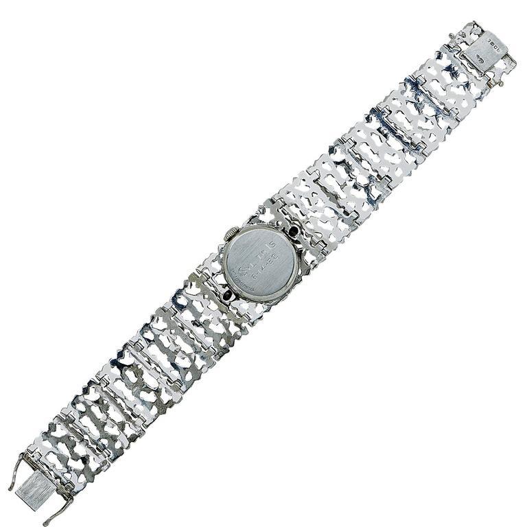 Hamilton Ladies Platinum White Gold Diamond John Donald