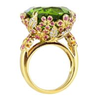Peridot Gold Ring | www.imgkid.com - The Image Kid Has It!