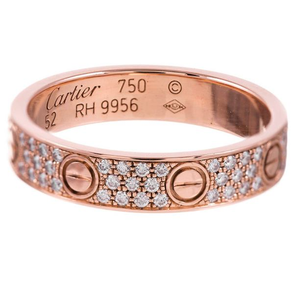 Cartier Love Ring Rose Gold Ring