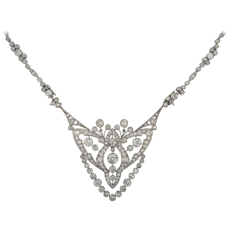1920s Cartier Important Art Deco Diamond Platinum