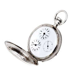 Agassiz Rose, Yellow and Green Gold Pocket Watch with