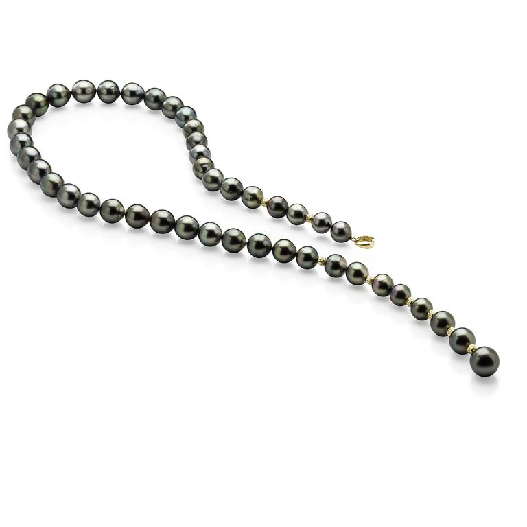 Lust Pearl Tahitian South Sea Pearl Strand Featuring 18