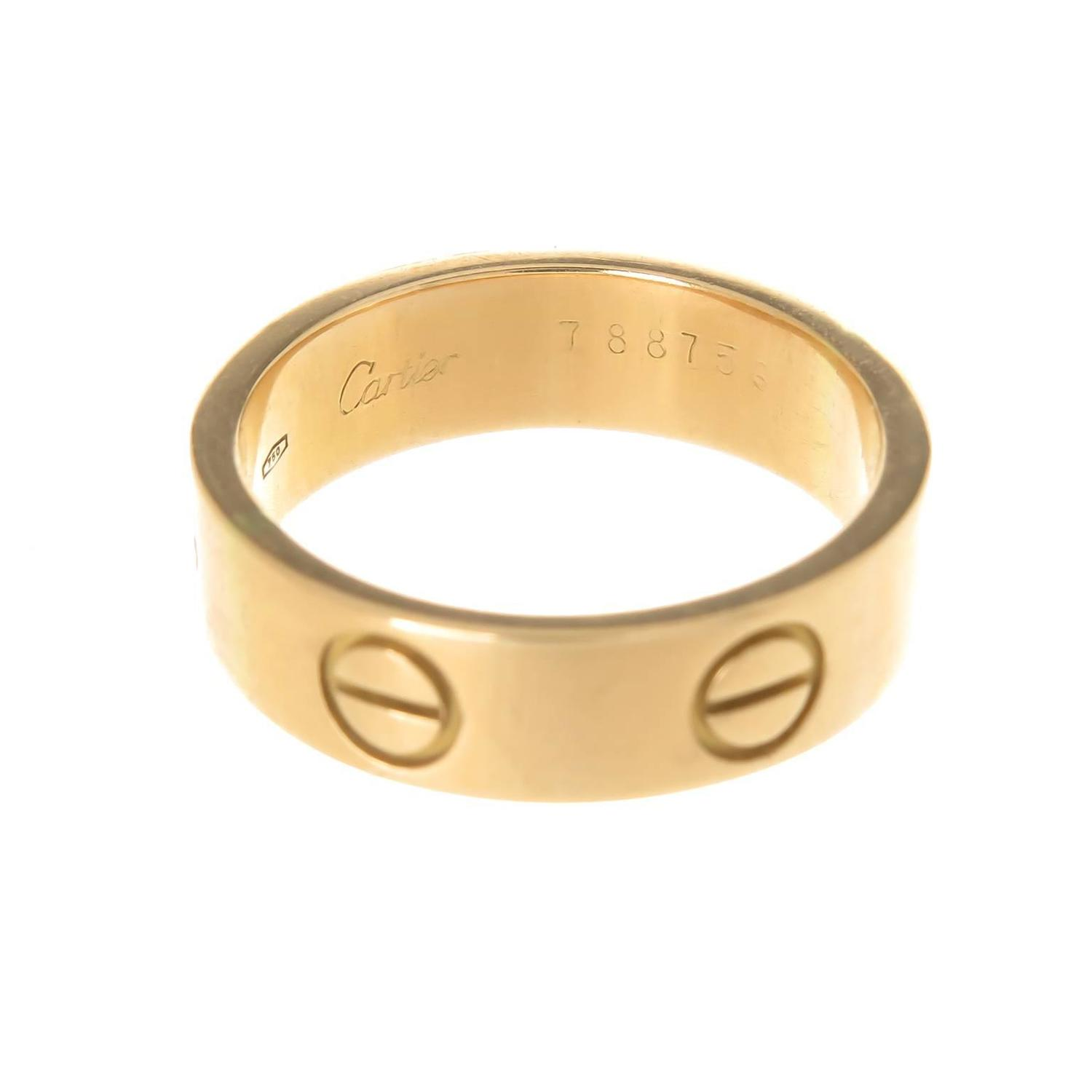 Cartier Gold Ring Price