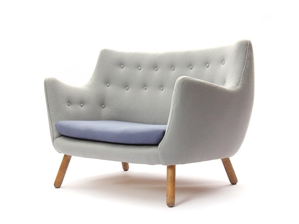 finn juhl poet sofa sale new set photos the by at 1stdibs