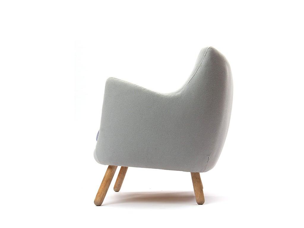 finn juhl poet sofa sale seabury leatherette 3 piece set black the by at 1stdibs