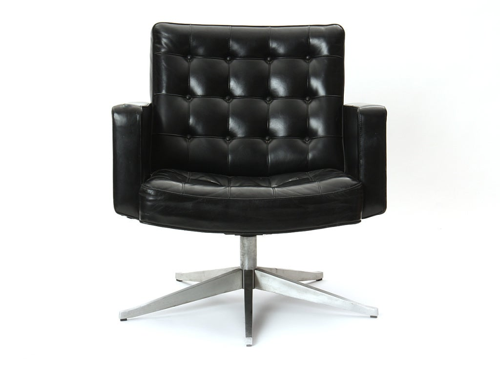 knoll office chair parts oak rocking plans a swivel by vincent cafiero for sale at