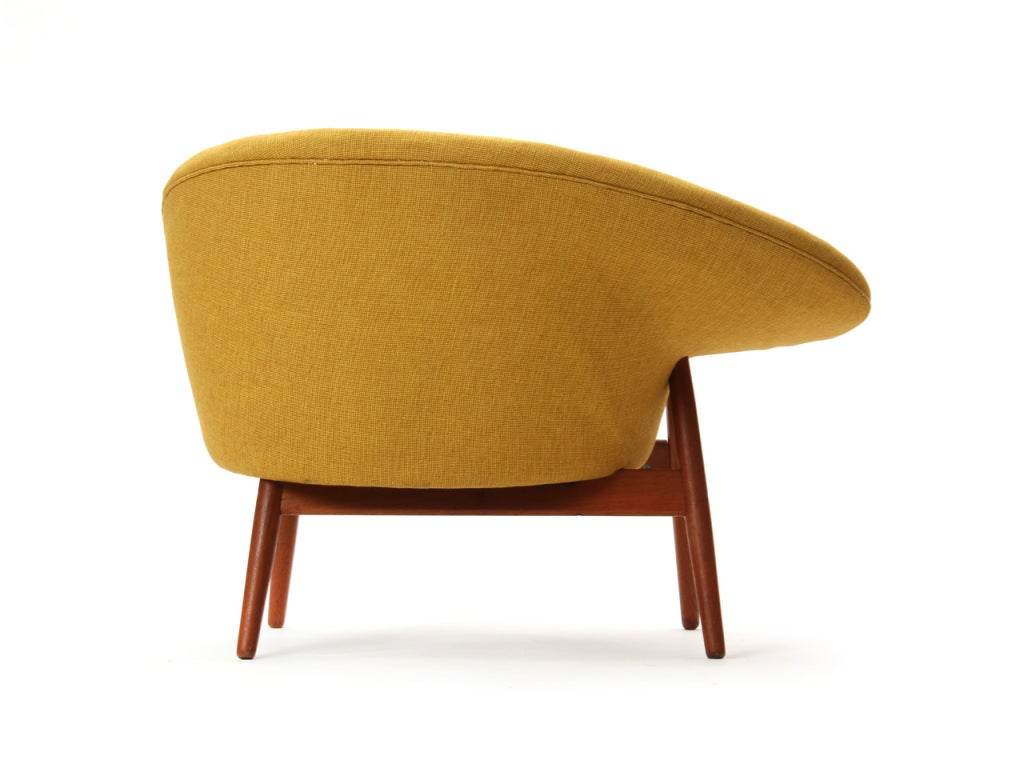 fried egg chair dining room chairs at target the by hans olsen 1stdibs