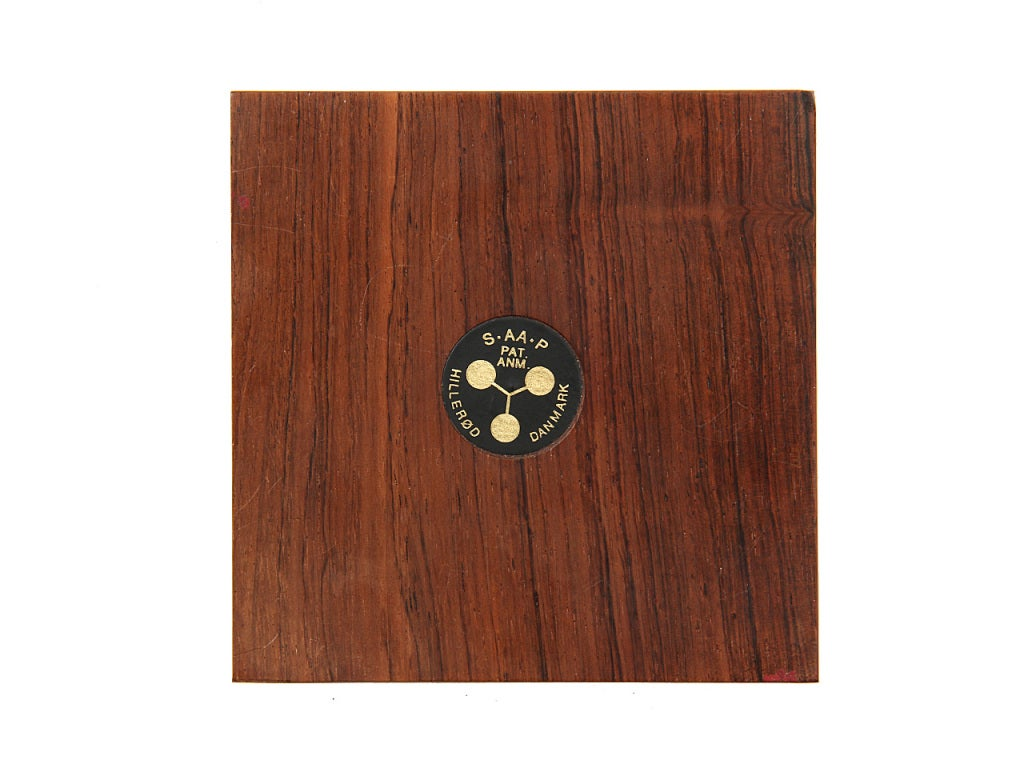 Magnetic Rosewood Executive Desk Accessories For Sale at
