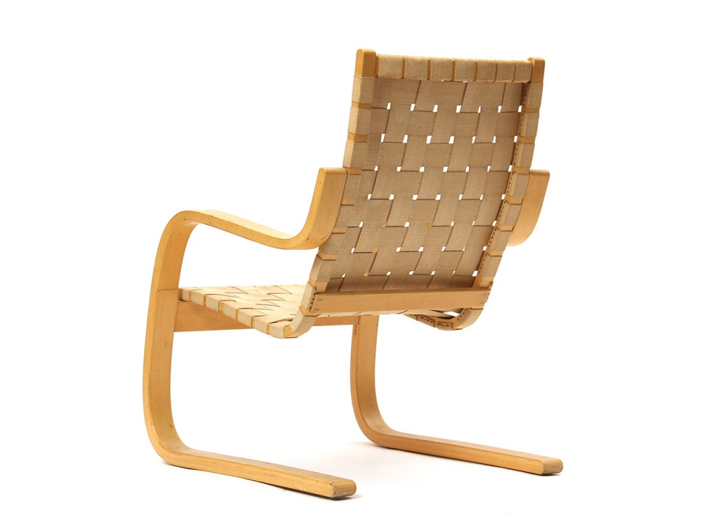 Aalto Chair Lounge Chair By Alvar Aalto For Sale At 1stdibs