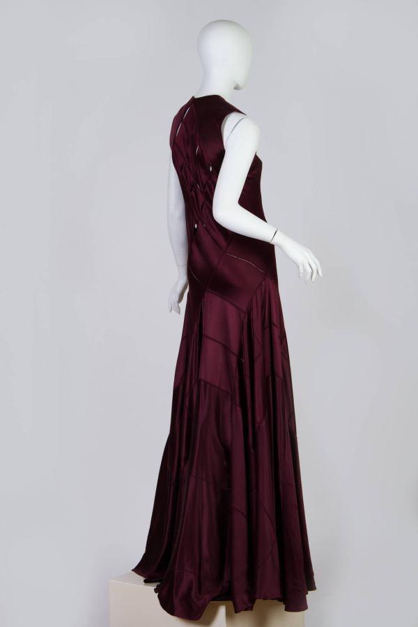 Calvin Klein Collection Bias Cut Gown 1stdibs