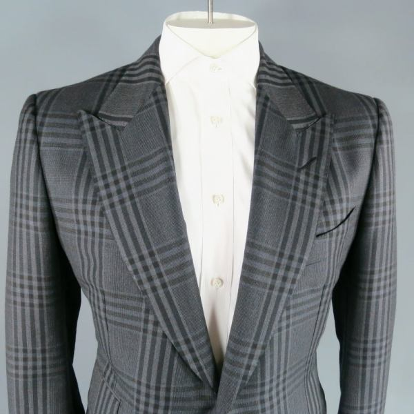 Dark Grey Suit Tom Ford