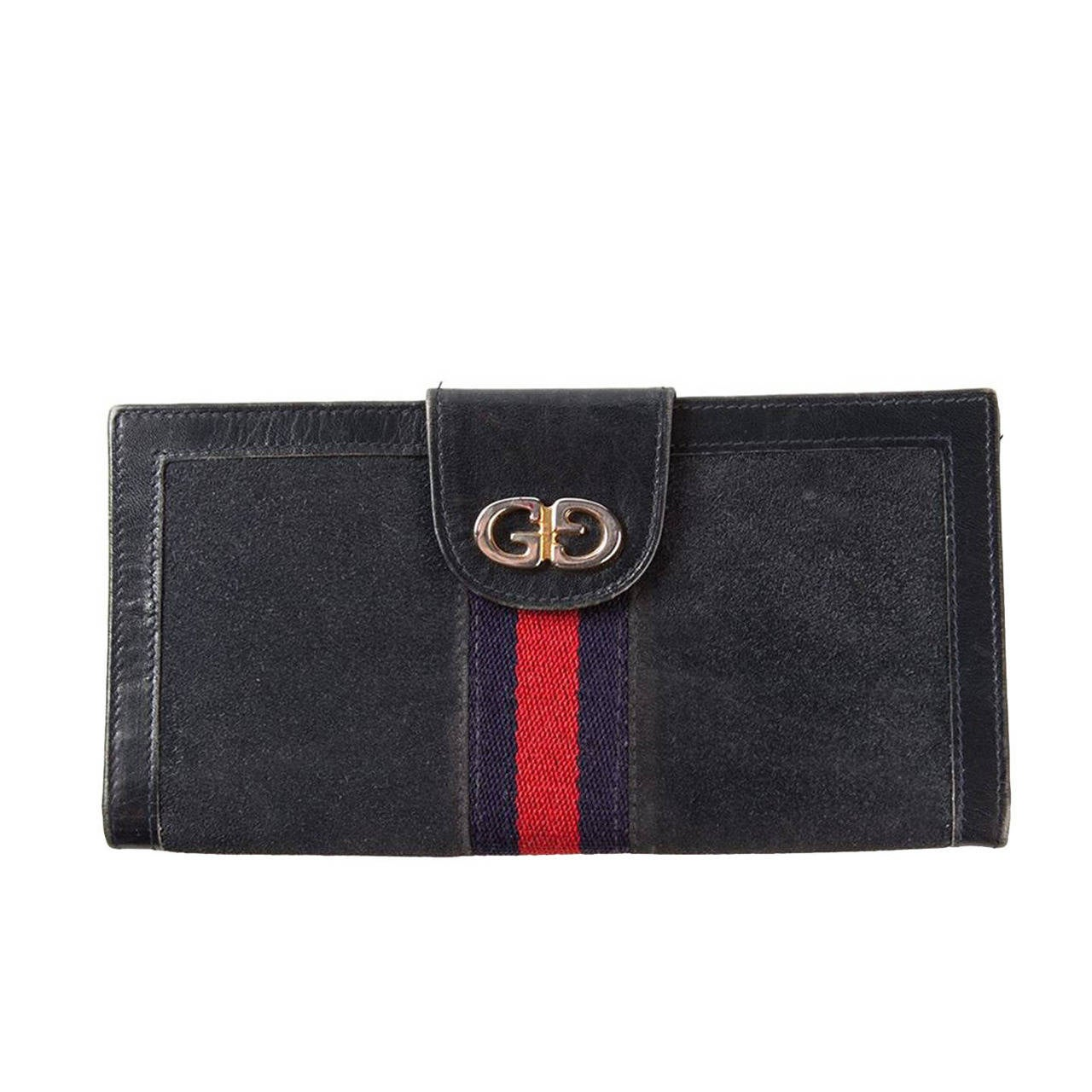 1970s Gucci Logo Purse For Sale At 1stdibs