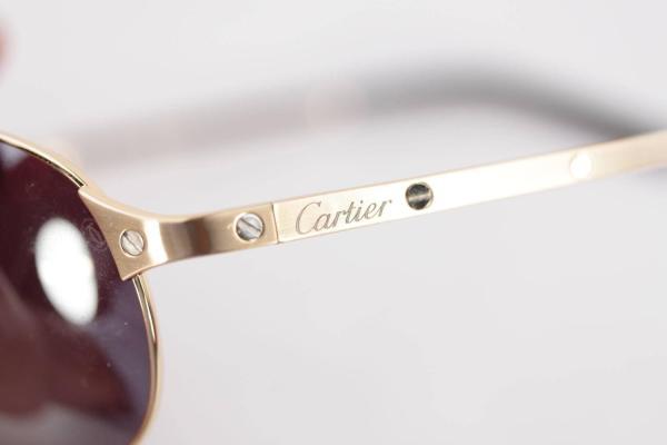 Cartier Limited Edition Santos-dumont Aviator Sunglasses