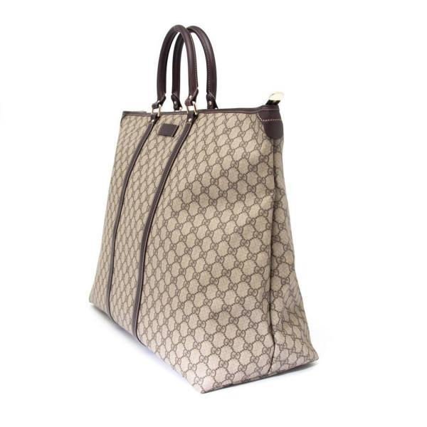 19b9b1729bb Gucci Canvas Travel Bag Weekender. Gucci Xl Monogram Weekender Tote 1stdibs
