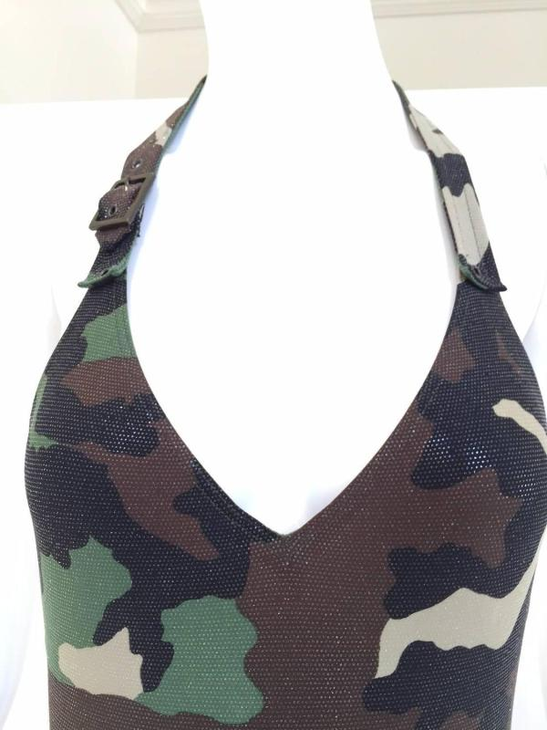 Christian Dior John Galliano Camouflage Bathing Suit 1stdibs