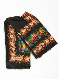 Yves Saint Laurent Wool Challis Scarf at 1stdibs