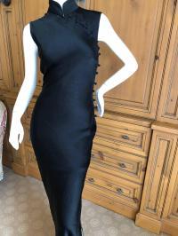Dior by John Galliano Cheongsam Silk Dress from First JG
