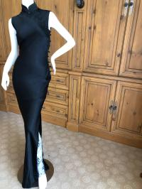 Dior by John Galliano Cheongsam Silk Dress from First JG