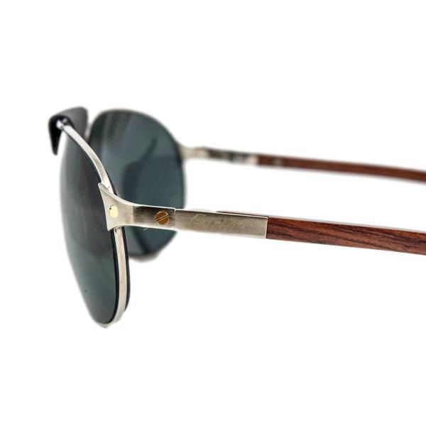 Cartier Santos Dumont Aviator Sunglasses 1stdibs