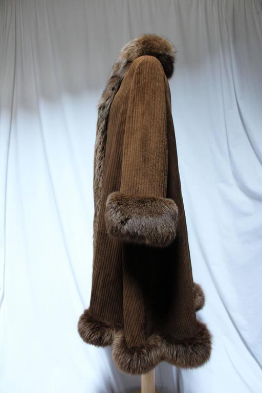 1990s Valentino Brown Fox And Reindeer Fur For Sale at 1stdibs