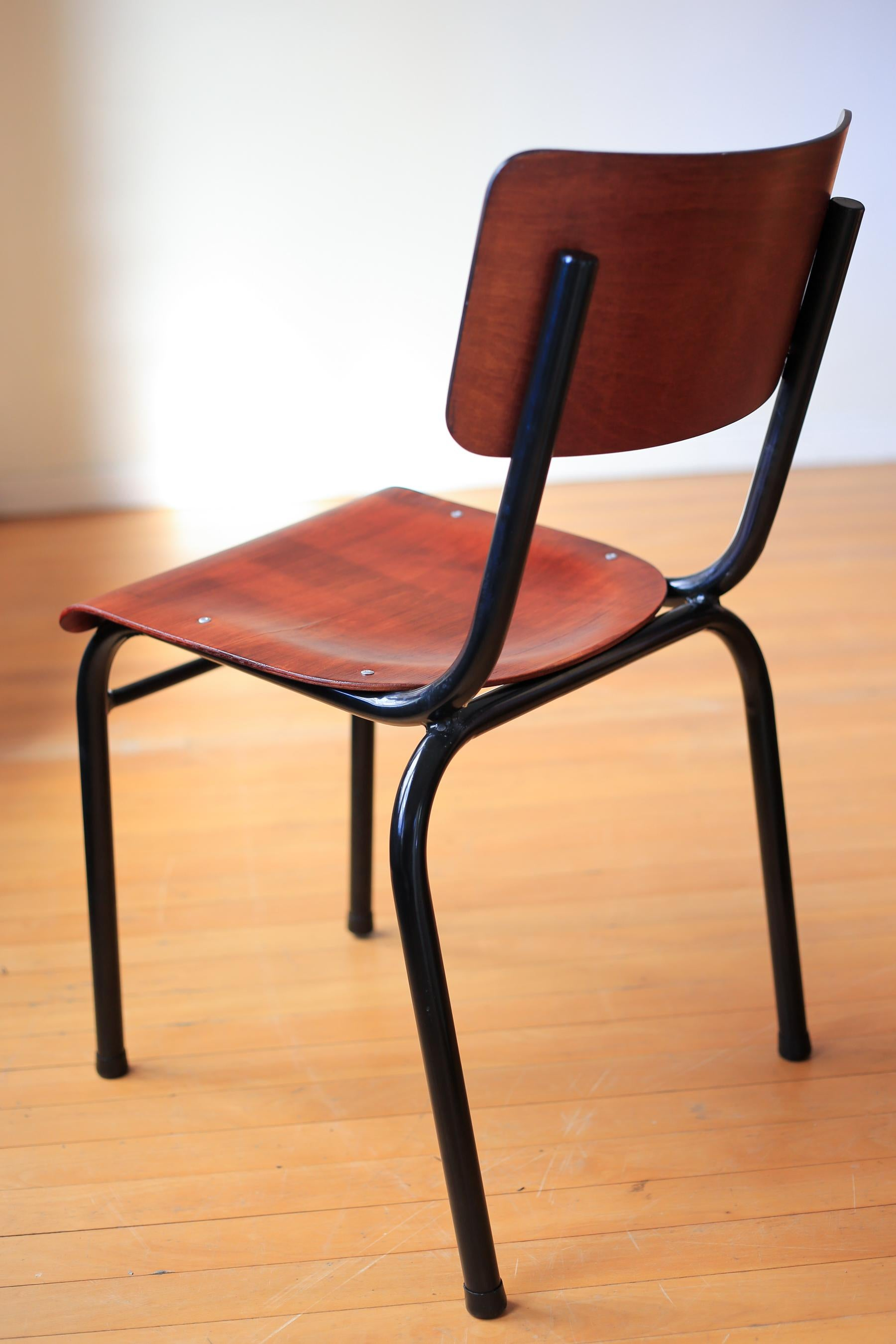 Refurbished Chairs Bauhaus Tubular Steel Stacking Chairs Refurbished