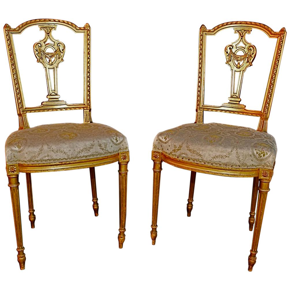 Beautiful Chairs Beautiful Pair Of French Louis Philippe Style Chairs