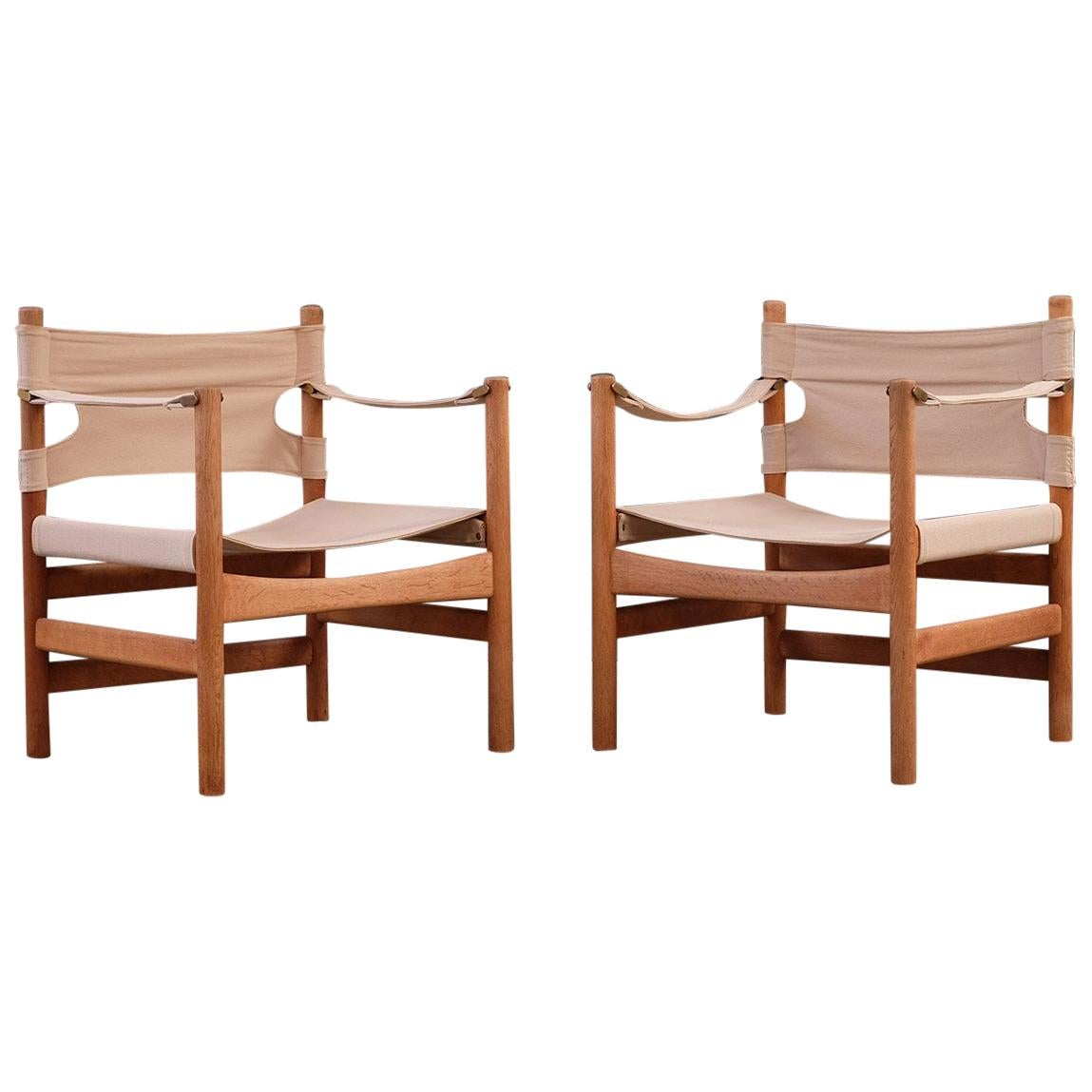 Safari Chairs Borge Mogensen Safari Chairs