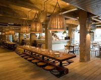 Communal Pub Height and Restaurant Dining Table For Sale ...