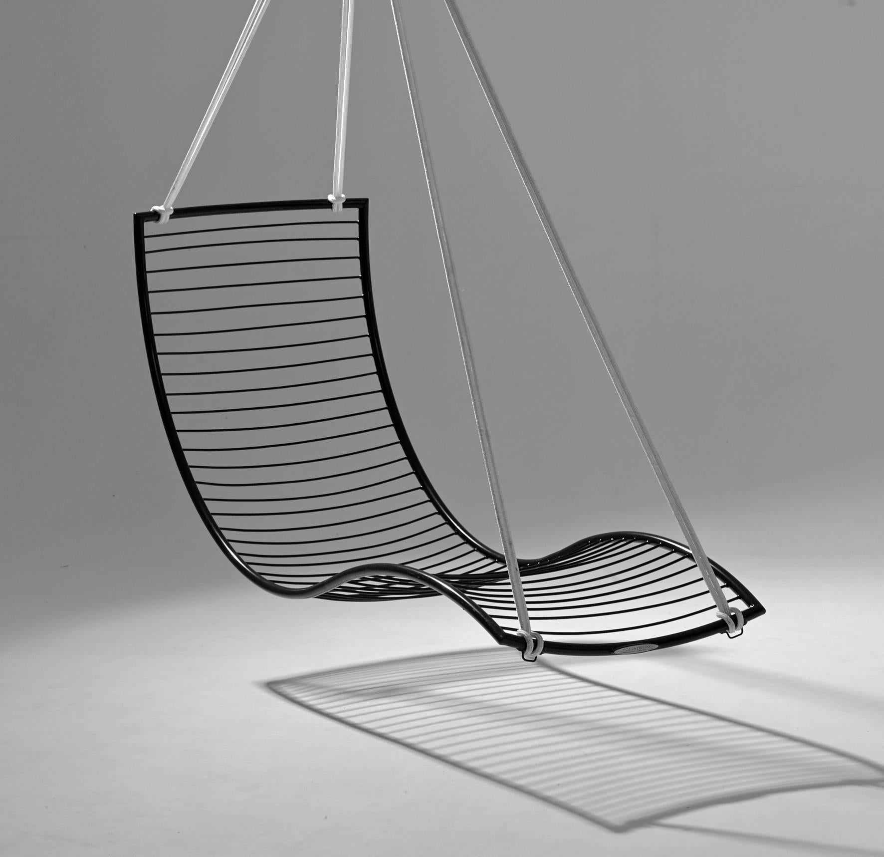 swing chair metal go anywhere harness curve hanging for sale at 1stdibs the chairs are fluid and organic they inspired by nature