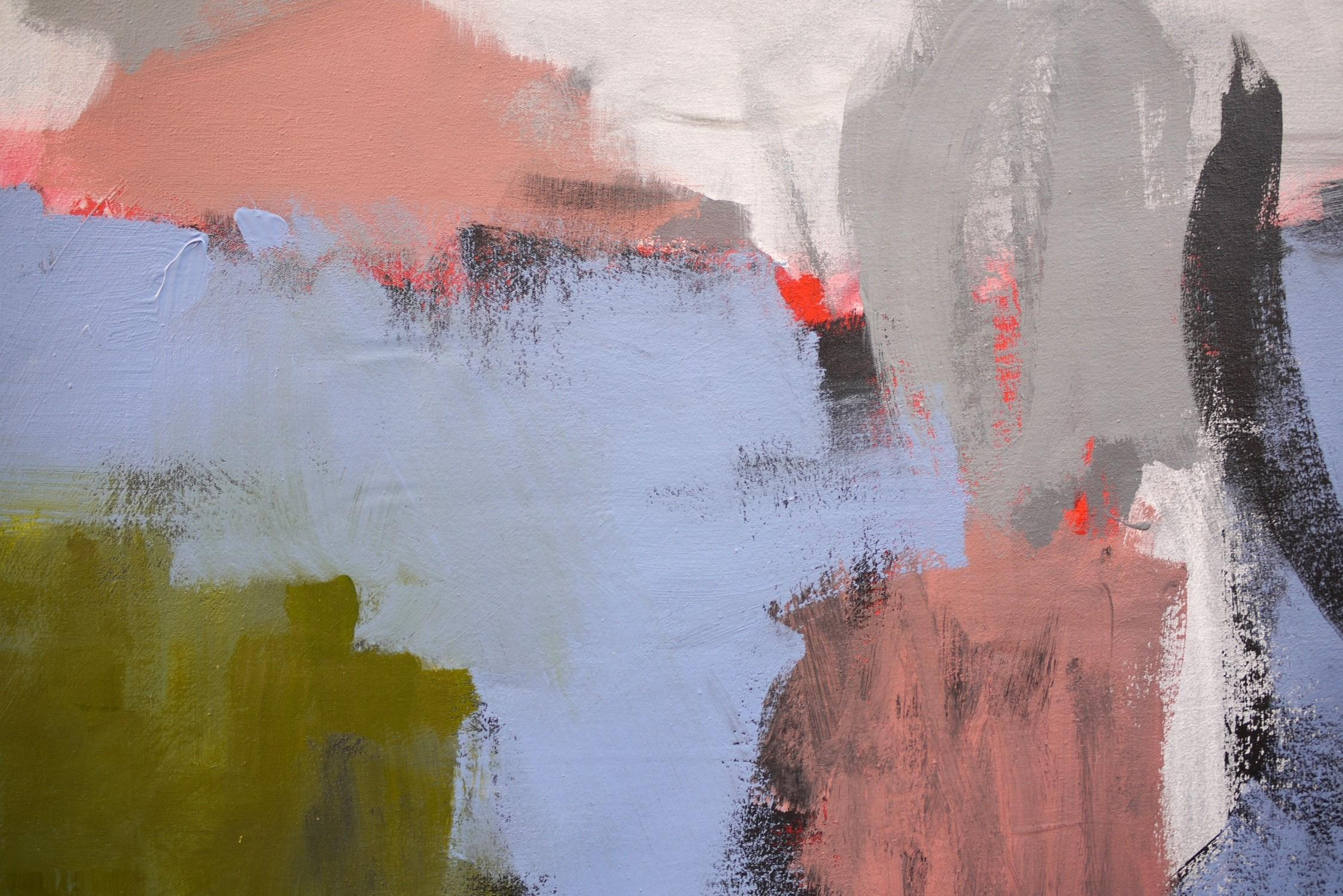 inner landscape abstract painting