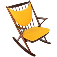 Mccabe Camping Chairs Metal Motel Yellow Rocking 12 For Sale On 1stdibs