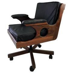 Desk Chair Made Denver Broncos Bean Bag On Castor Don Shoemaker Mexican Modern For Sale At 1stdibs