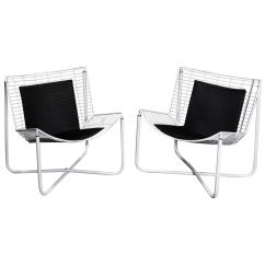 Ikea Metal Chairs How To Make A Cardboard Chair With Only White Jarpen Wire Lounge By Niels Gammelgaard For 1983 Sale
