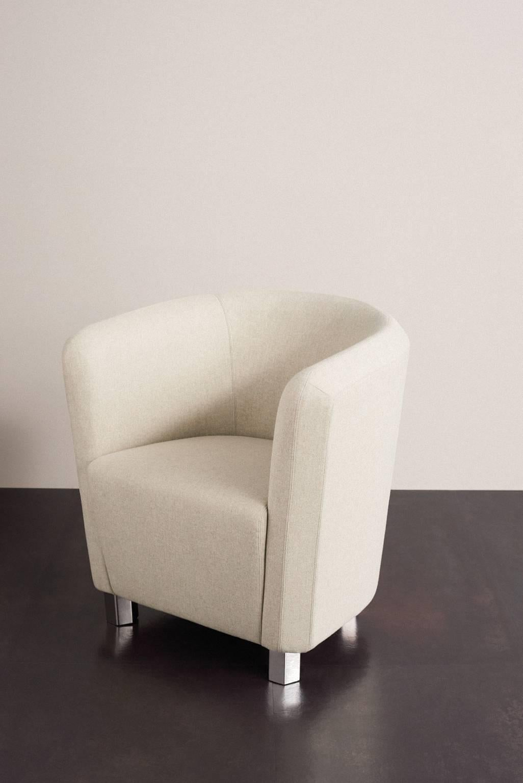 small arm chair cane repair deco futura armchair with steel frame and fiber by moroso for diesel sale at 1stdibs