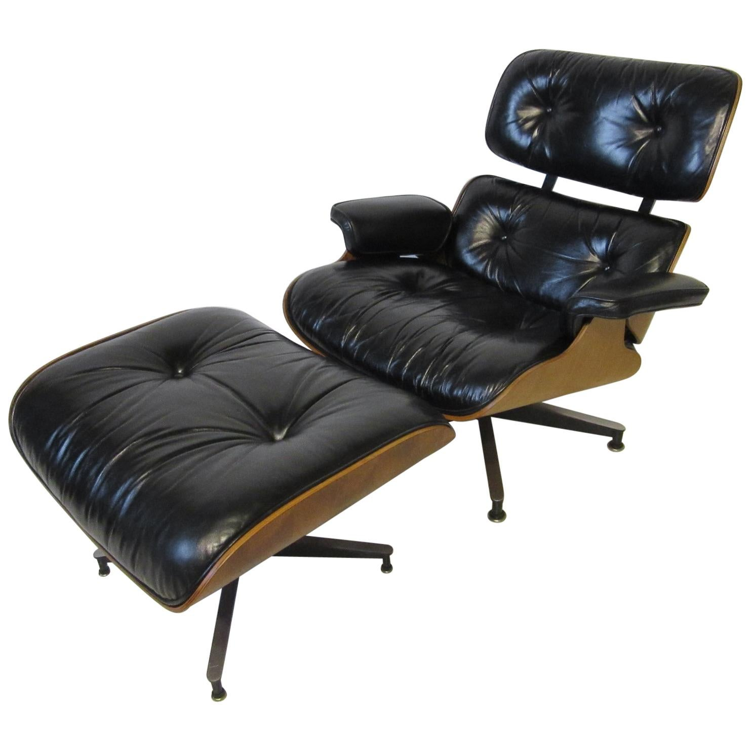 eames lounge chair for sale helinox multicam perfect rosewood and ivory herman miller 670 with ottoman by