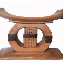 Stool Chair Ghana Red Plastic Chairs Early 20th Century Mahogany Ashanti At 1stdibs