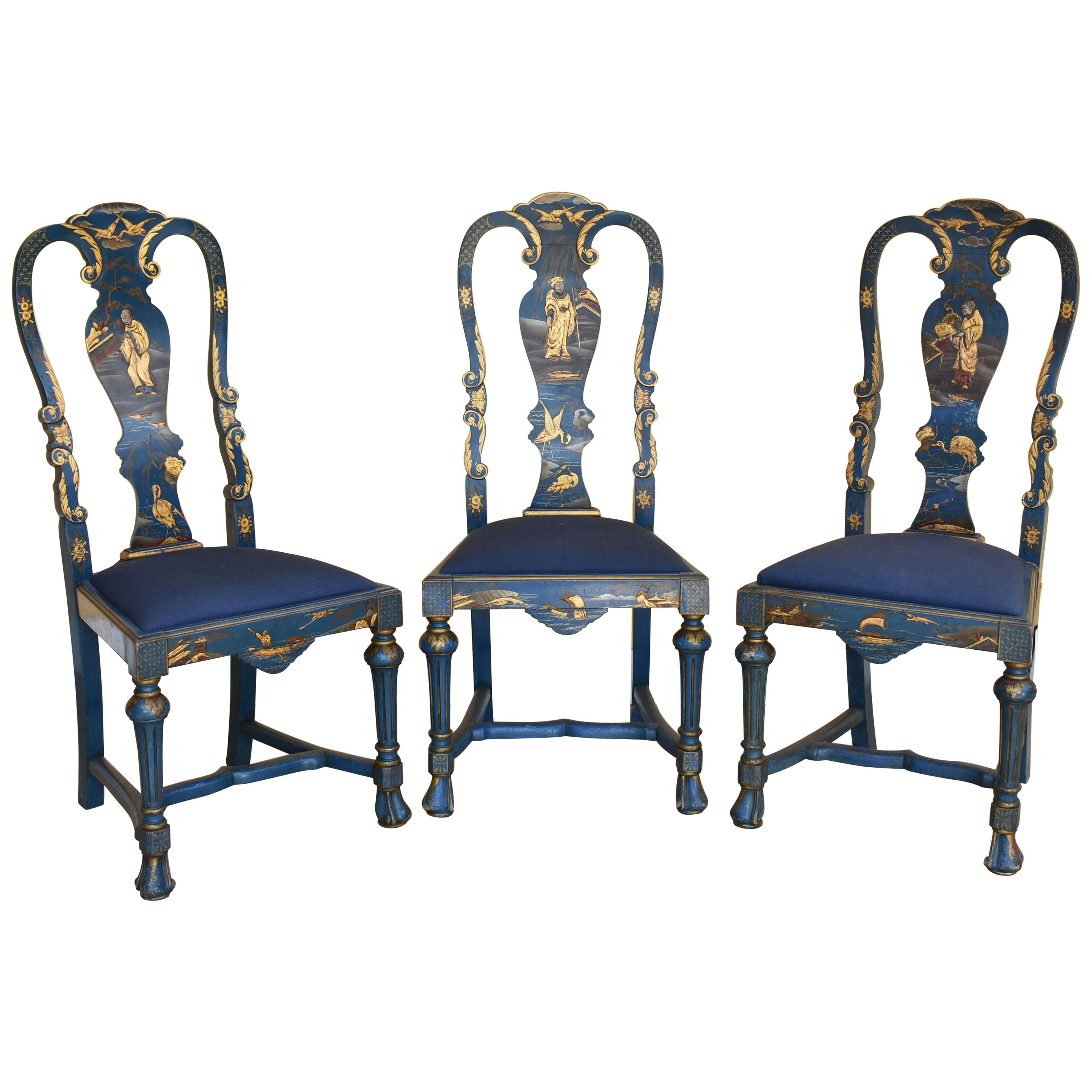 queen anne style chair high singapore review early 20th century chinoiserie chairs for sale at
