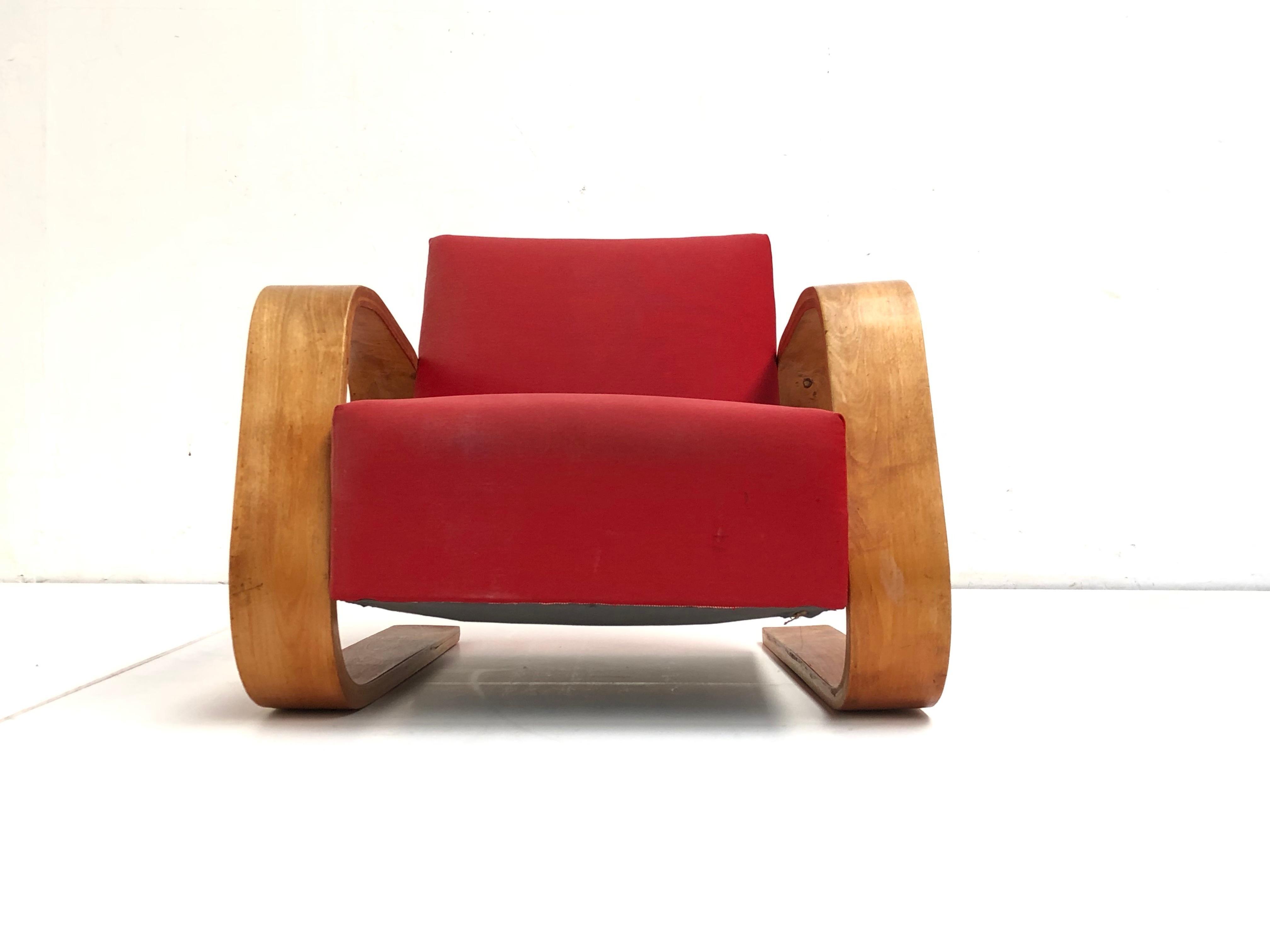 Armchair 406 Alvar Aalto