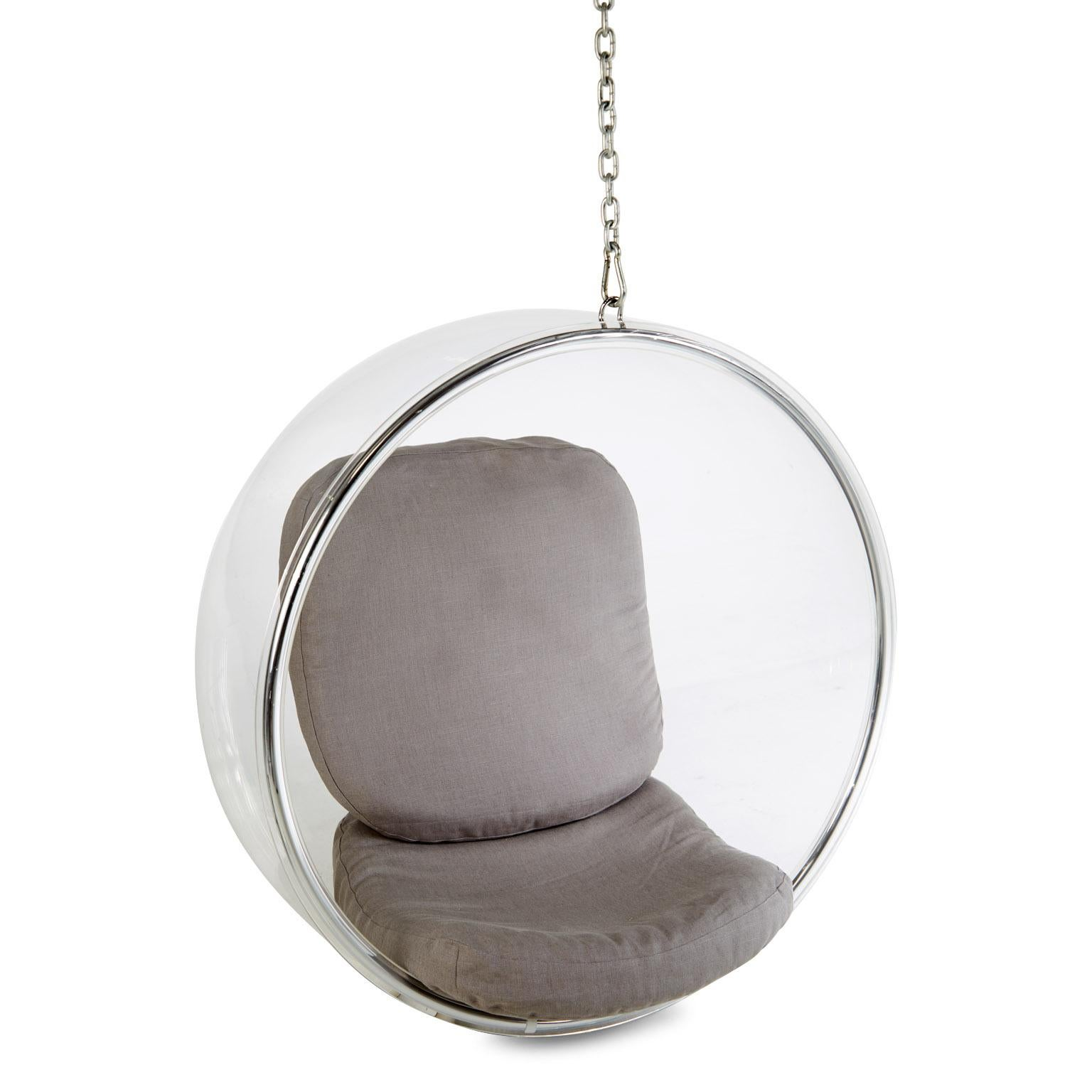eero aarnio bubble chair small desk chairs without wheels for adelta lucite hanging sale at 1stdibs